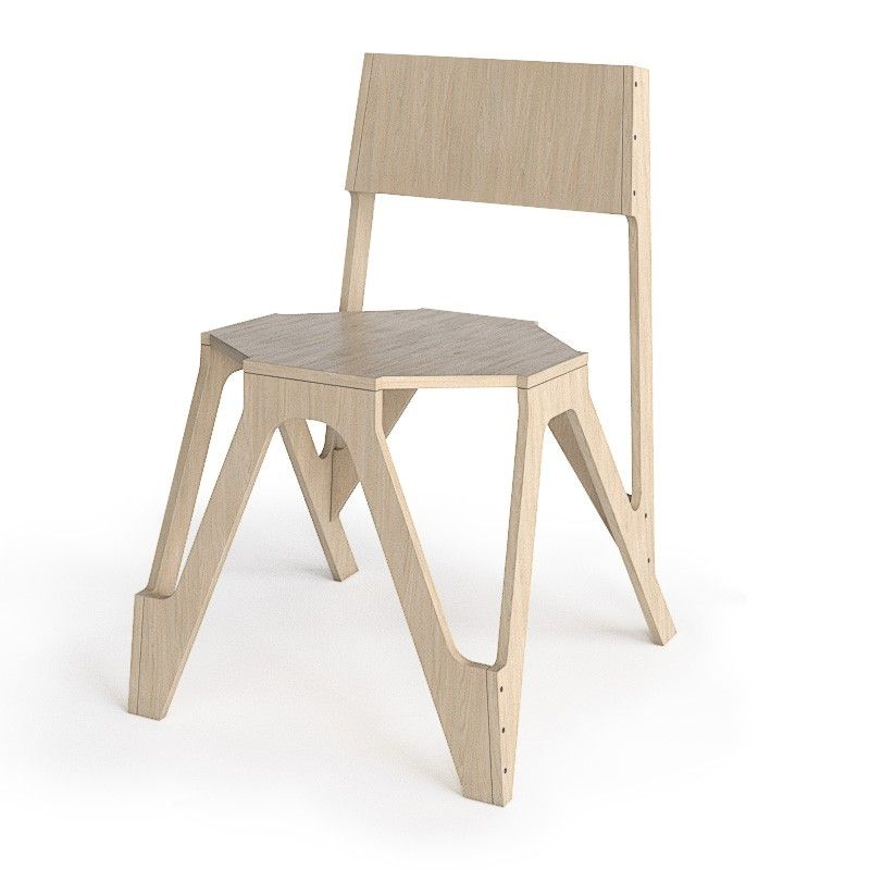 Wooden Chair by JDS