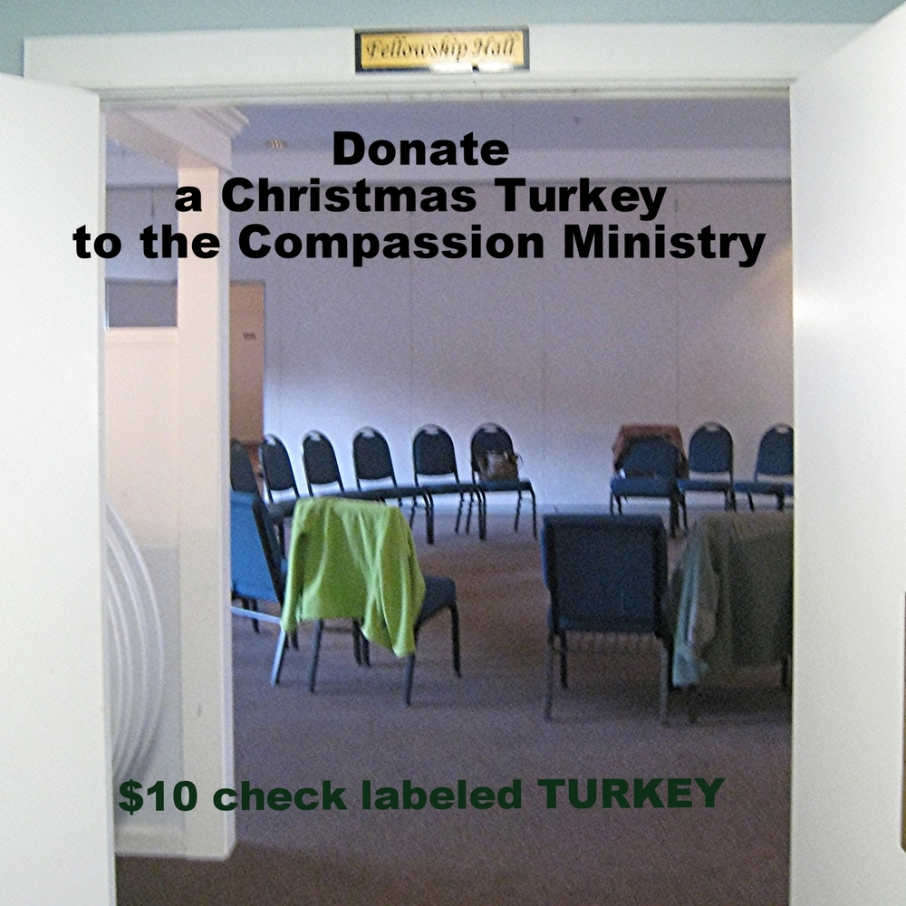 Donate Christmas Turkeys