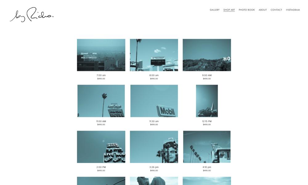 Shop Art Page