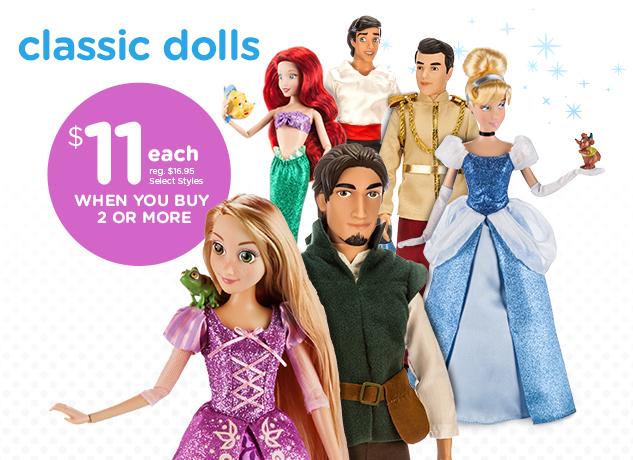 Classic dolls-11 dollars