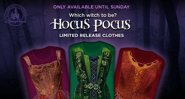 hocus pocus flash sale