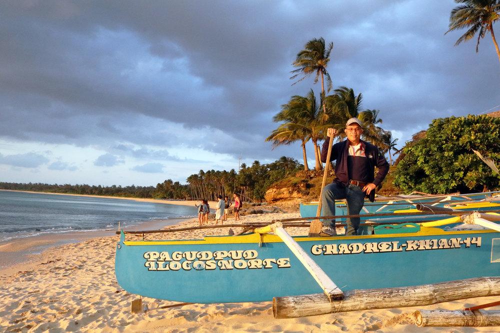 Mom & Pops' trip to Ilocoes Norte, February 2017