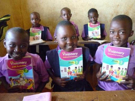Students happy to have new curriculum text books