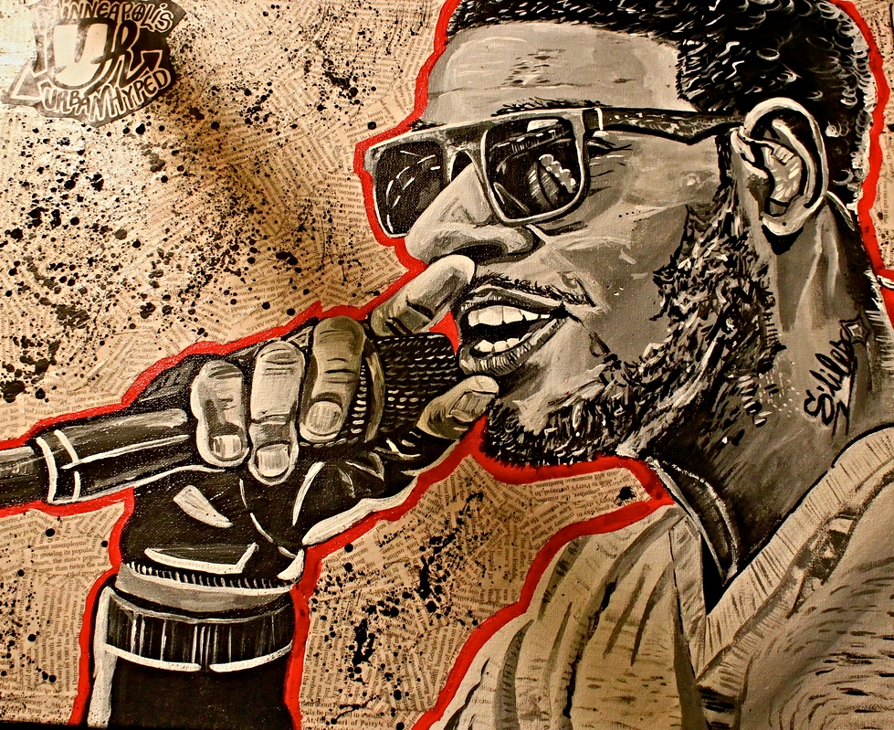 "Kid Cudi Portrait 20"" x 16"" (2014)"