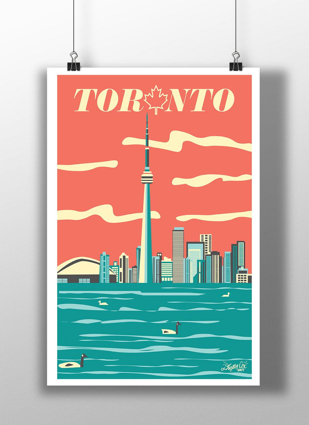 Toronto City Poster