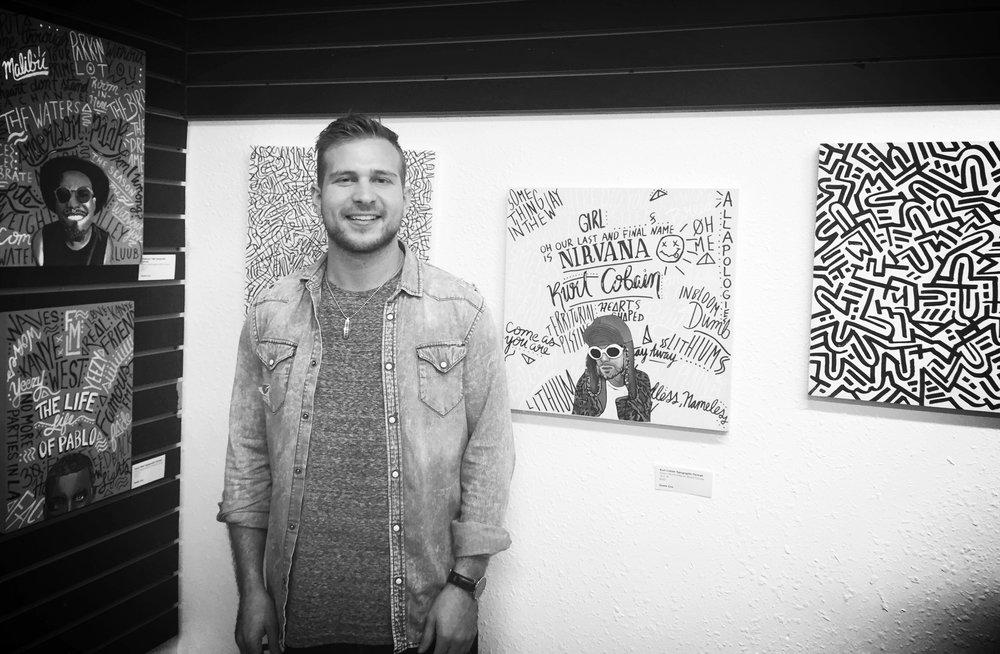 Art Showing South Beach, CA / (Feb 2017)