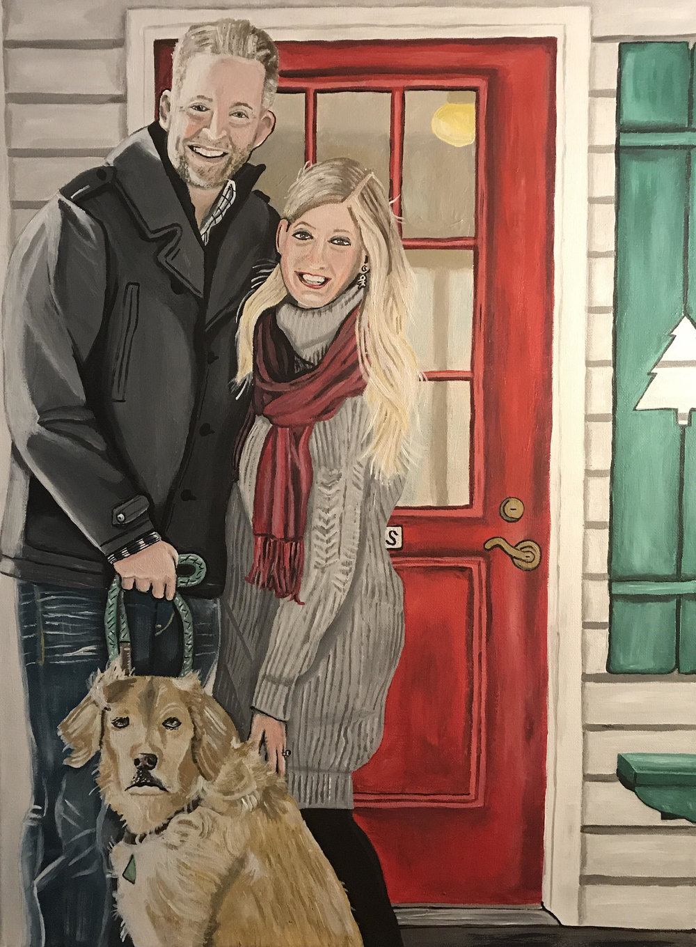 "Nikki Family Portrait 18"" x 24"" (2018)"