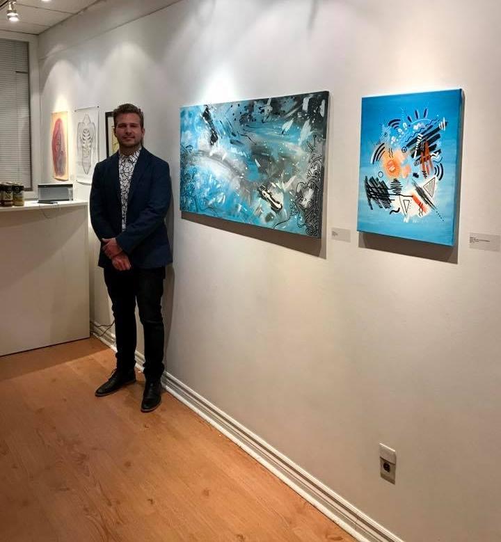"""We Are Here"" volunteer art showcase at Arts Etobicoke. : Toronto, Ontario (March 15th, 2018)"