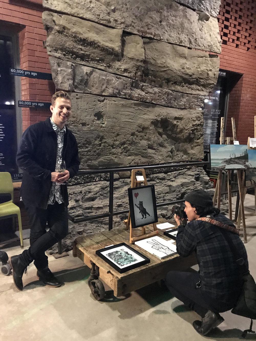 Vam Exhibition @ Evergreen Brickworks (April 8th, 2018)