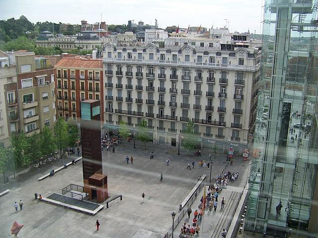 Vista desde el Museo Reina Sofía.Autor: Rodney