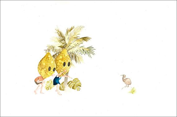 """Dibujo de la serie """"Terra Ignota"""", de Laura Salguero."""