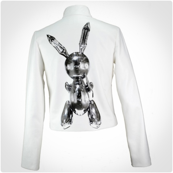 Jeff Koons, Bunny leather jacket