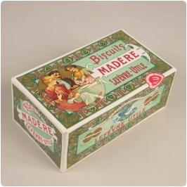 Mucha, caja para Biscuits Lefevre