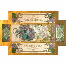 Alphonse Mucha, Packaging Savon Mucha