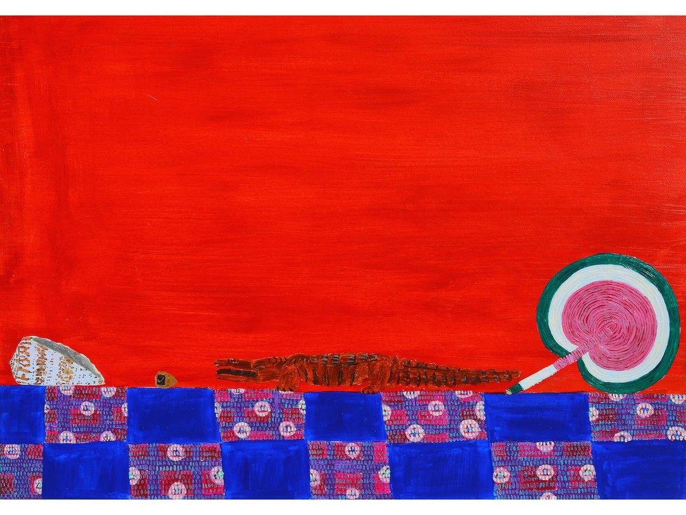 Laura López Balza_BODEGÓN DEL PASADO AÑO. Acrílico sobre tela. 50 x 70 cm. 2018_.jpg