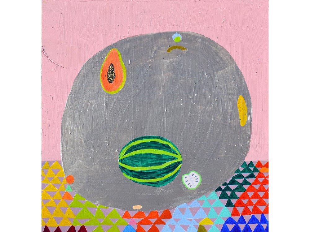 Laura López Balza_ALGUNAS FRUTAS DE OTOÑO. Acrílico sobre tabla. 30 x 29 cm. 2018_.jpg