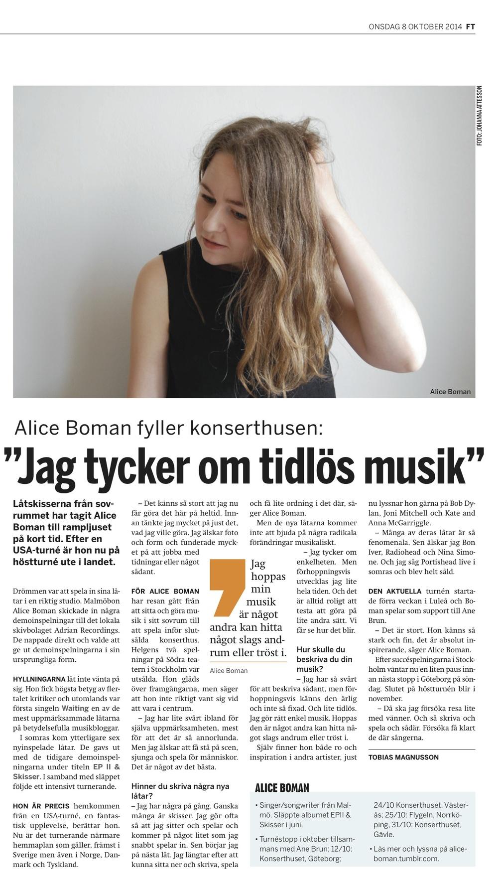 Fria tidning intervju - Alice Boman.jpg