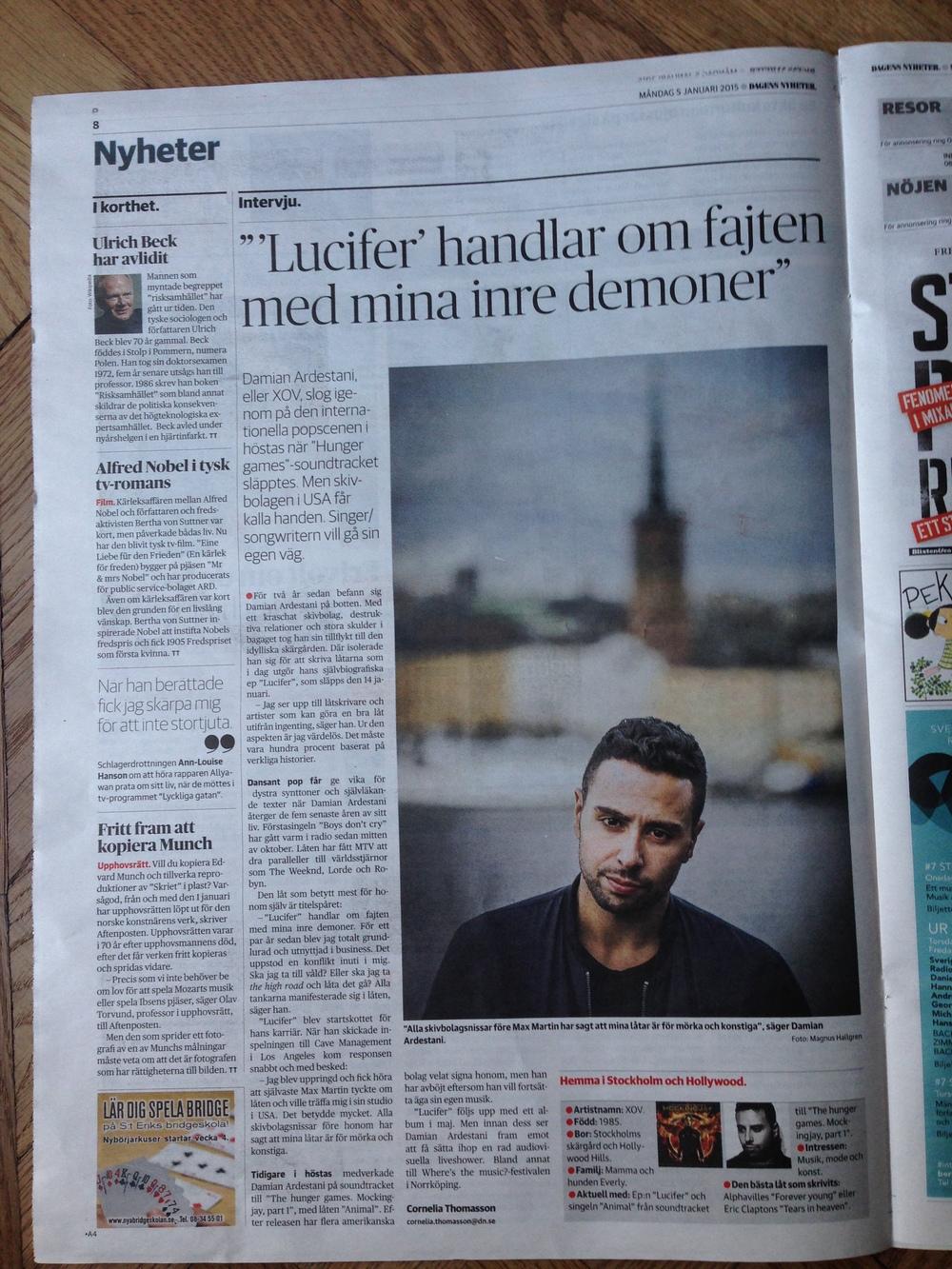 DN Kultur - XOV intervju.JPG