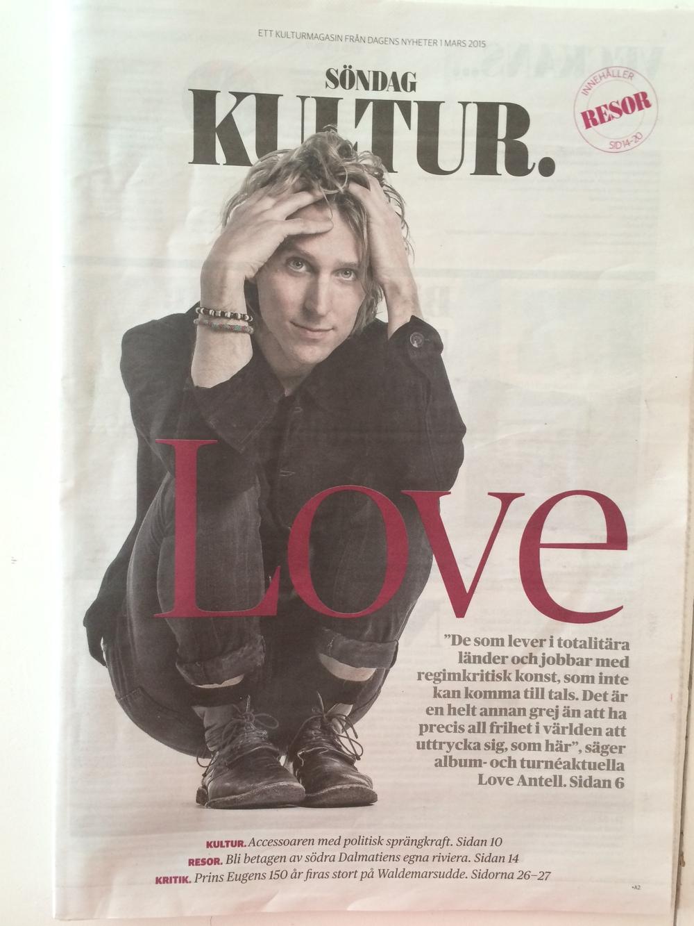 Love Antell - omslag DN Kultur.jpg