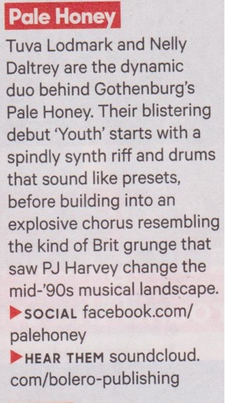 Pale Honey - NME buzz clipping.jpeg