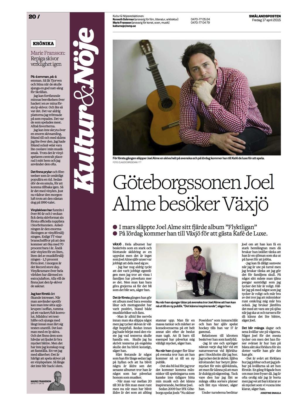Joel Alme i Smålandsposten.jpg