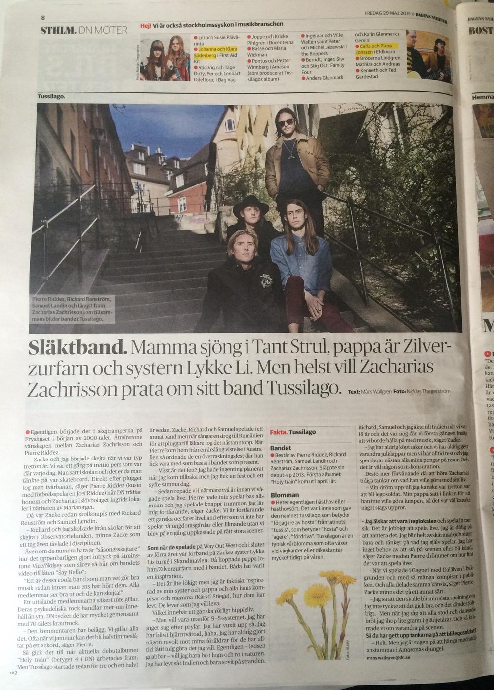 DN Sthlm intervju - Tussilago .jpg
