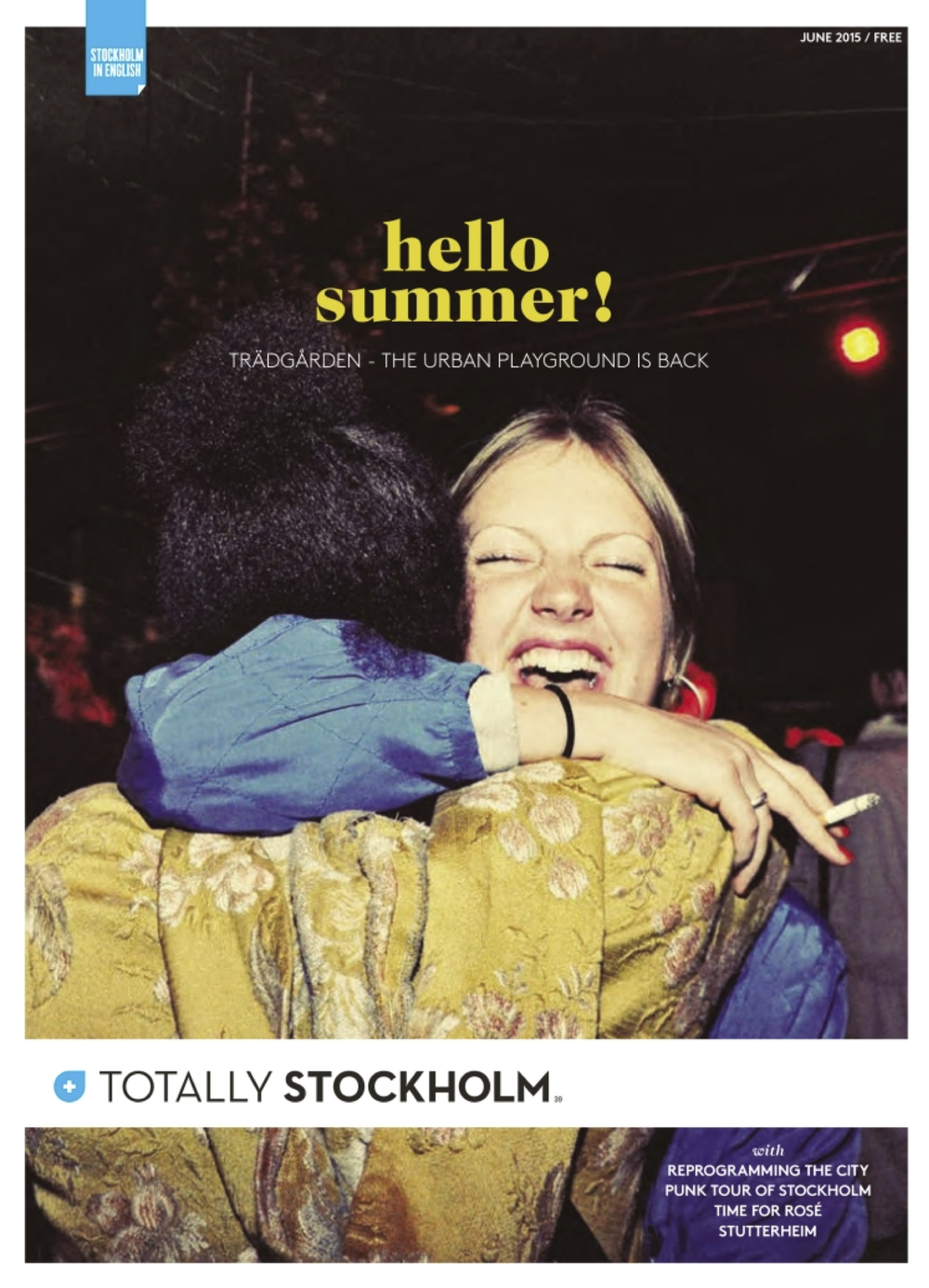 Trädgården - omslag Totally Stockholm juni 2015.jpeg