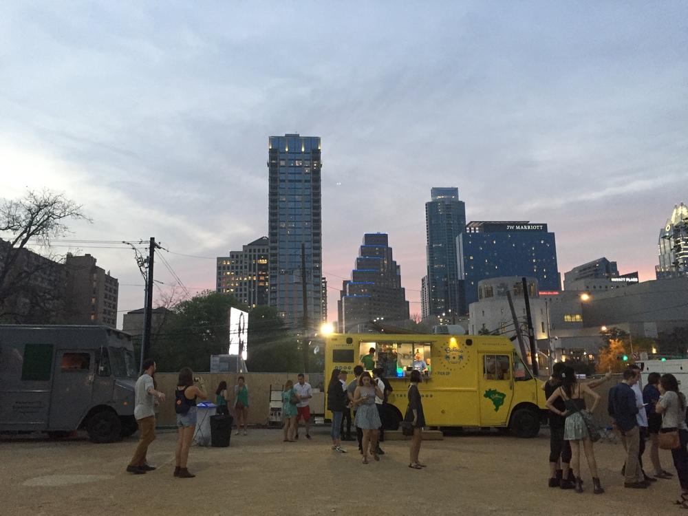 SouthBites Trailer Park – massor av matförsäljare nära Austin Convention Center.