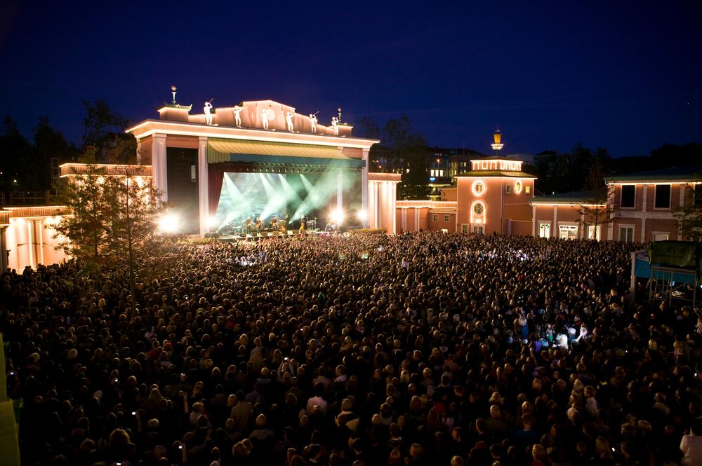 Håkan Hellström på Stora scenen (2009) Fotograf: Stefan Karlberg