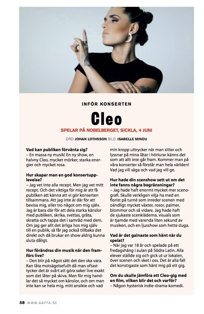 Gaffa inför konserten - Cleo.jpg