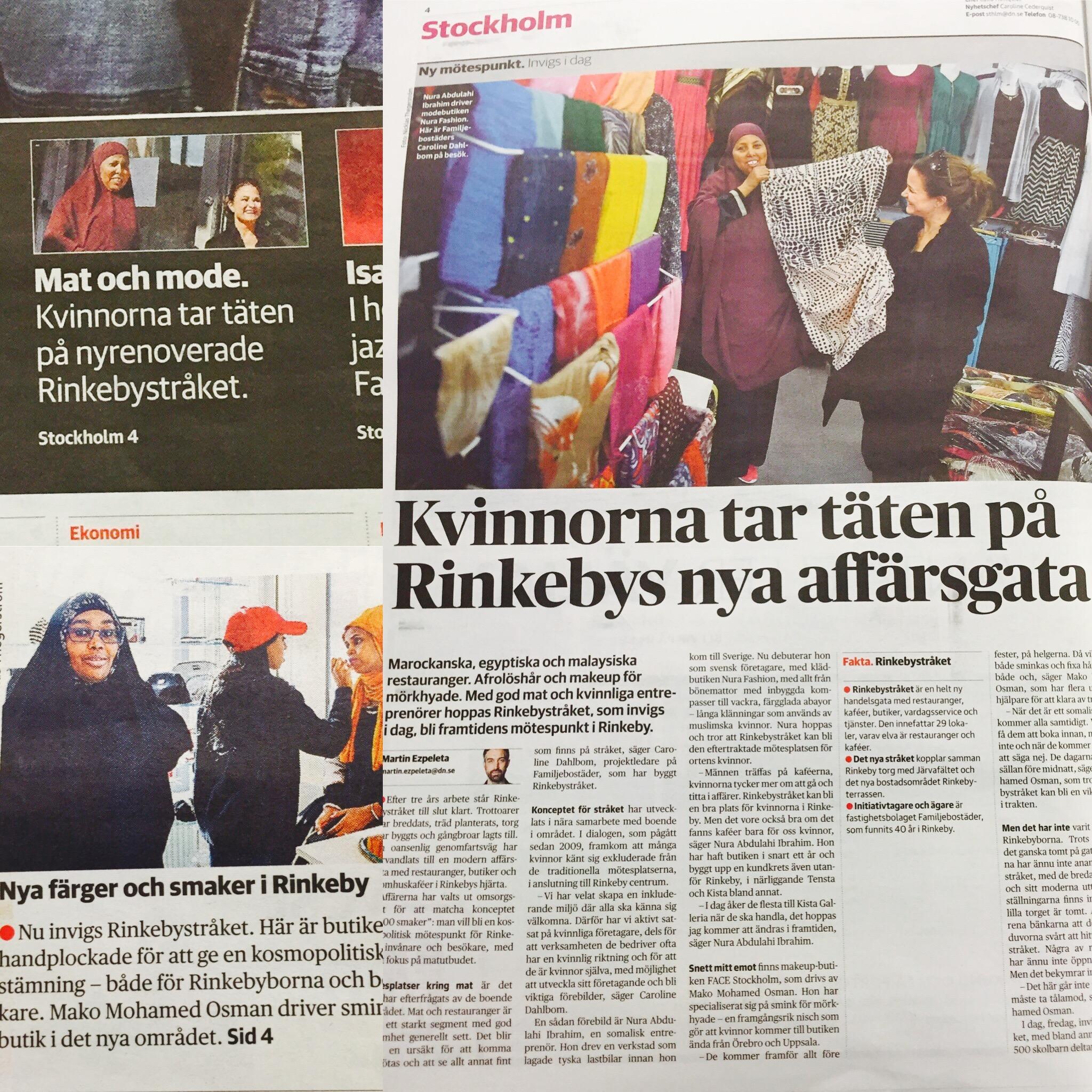 0374f3f29db7 Den nya handelsgatan Rinkebystråket invigs i dag