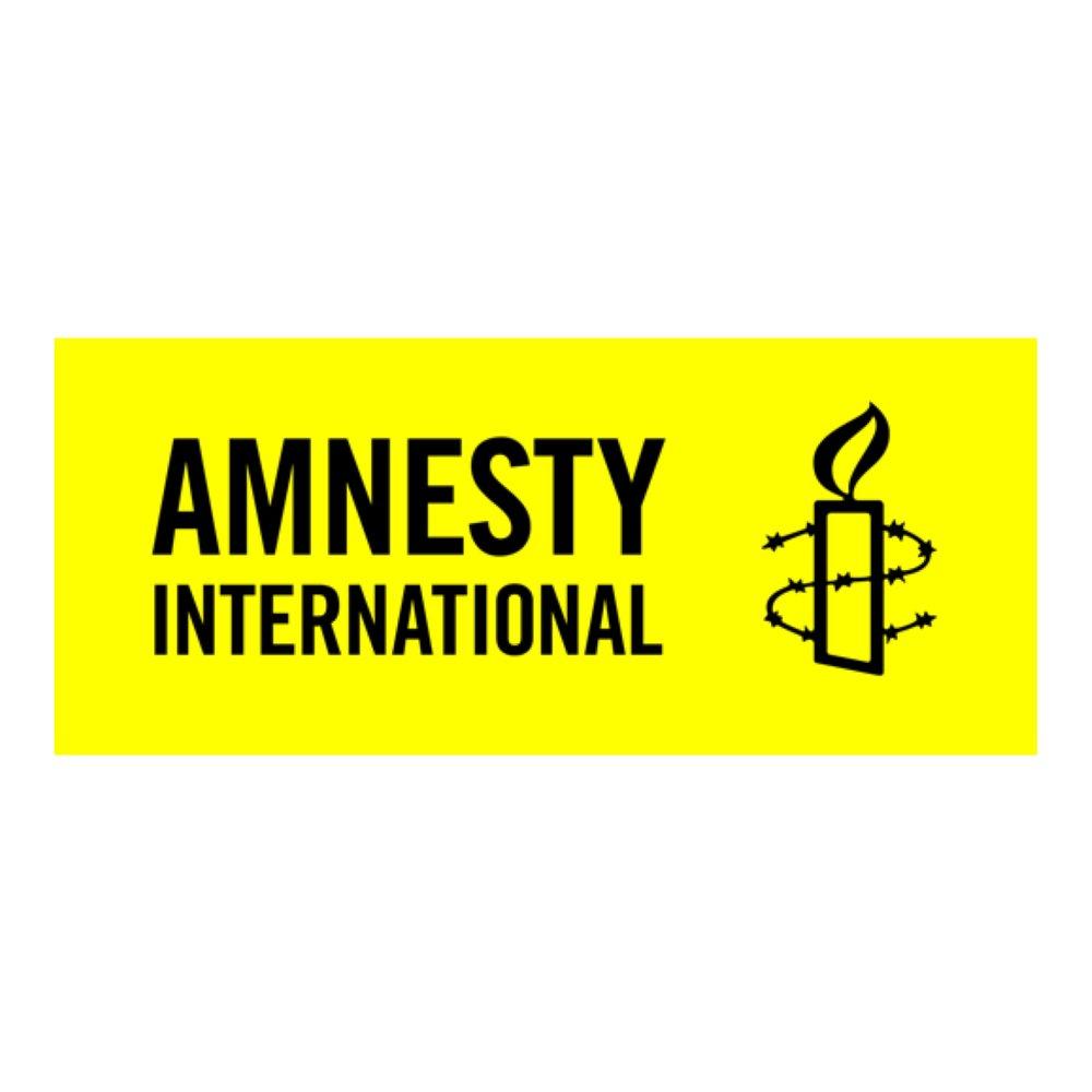 Bilden: Amnestys logotyp