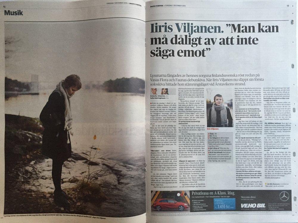 Iiris Viljanen i DN Kultur.JPG