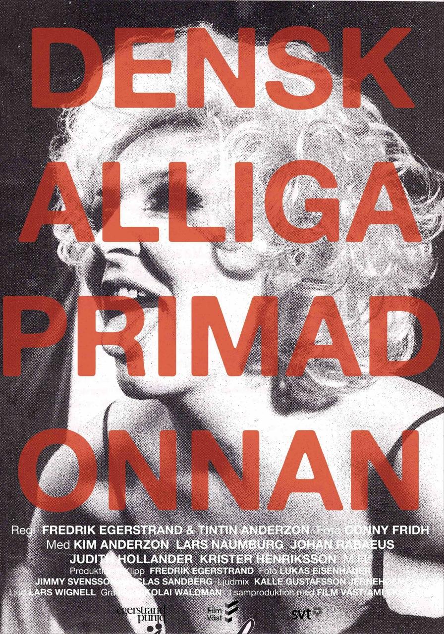 Poster för Den Skalliga Primadonnan.