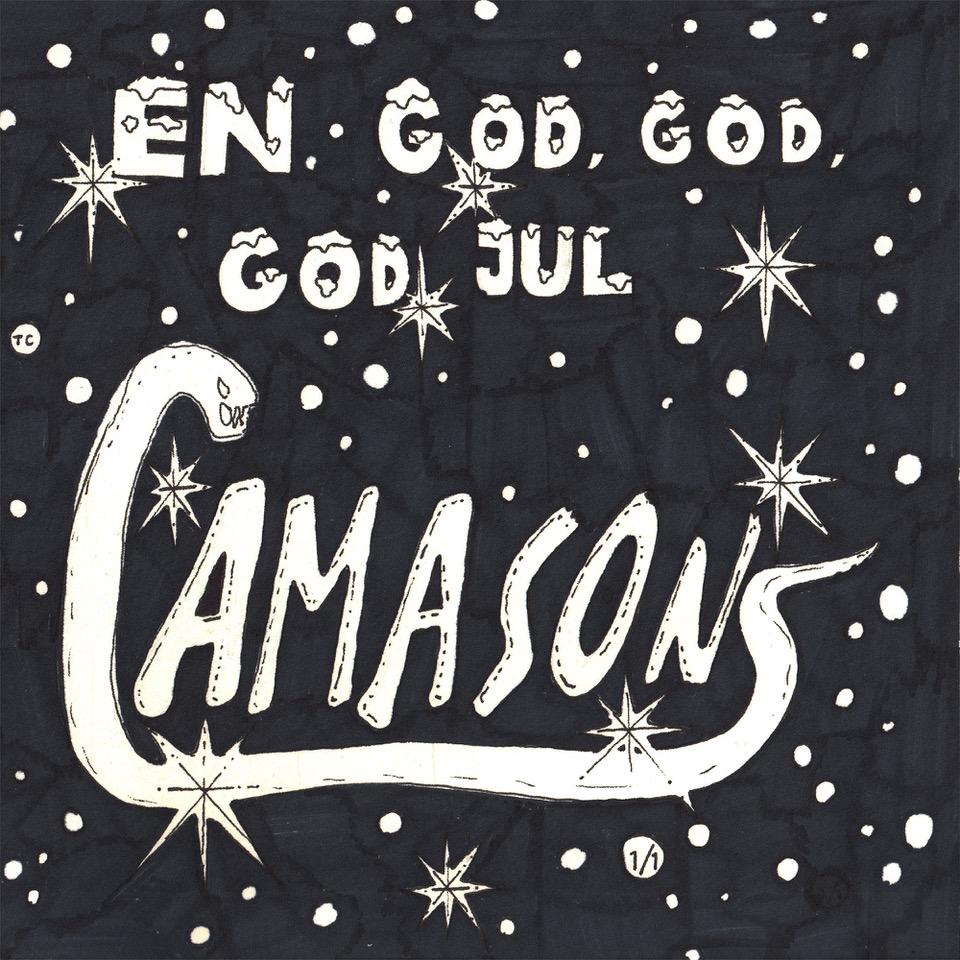 """Singelomslag, Amason """"En god, god, god jul"""""""