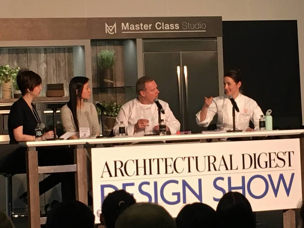So much fun to speak at the New York Times Design Series at the Architectural Digest Design Show with my hero, Jaques Torres and Susanna Yoon of Stick With Me Sweets - moderated by the Uber talented Charlotte Druckman!