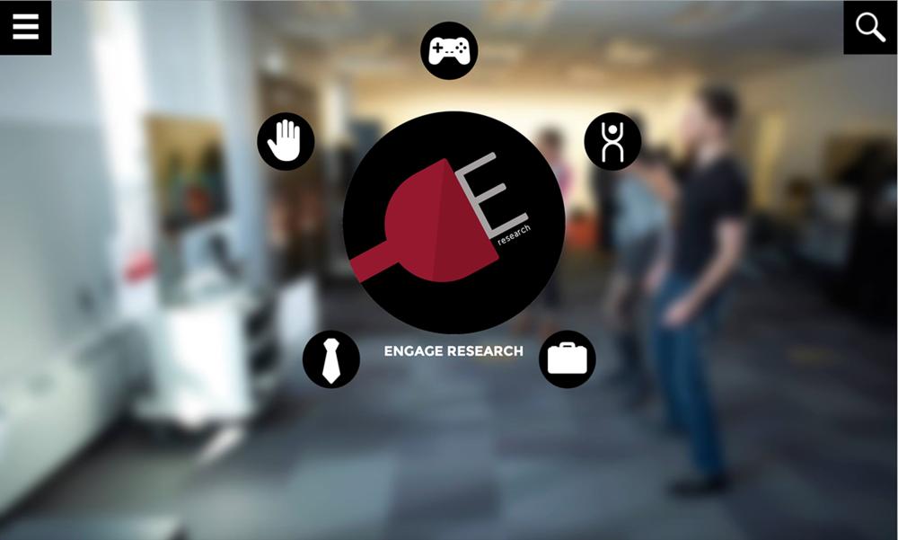 Engage Research, Website Design (Chosen Design)
