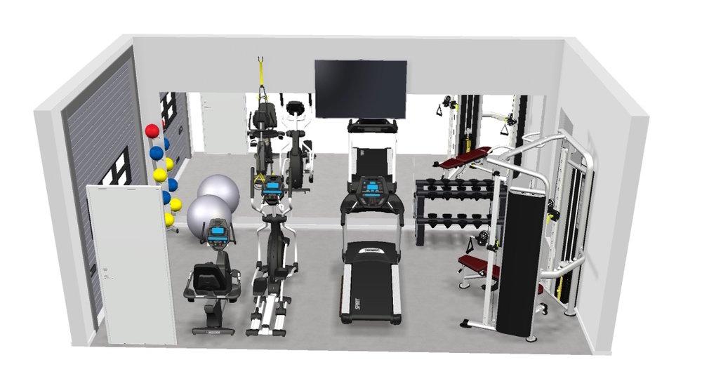 Garage Gym layouts -