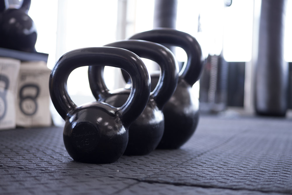 kettlebells - Kettlebells are great workouts and often under appreciated. Since they're a little less traditional, we're happy to help you learn about some of the exercises you can do, like a Turkish Getup (which has an awesome name, by the way).