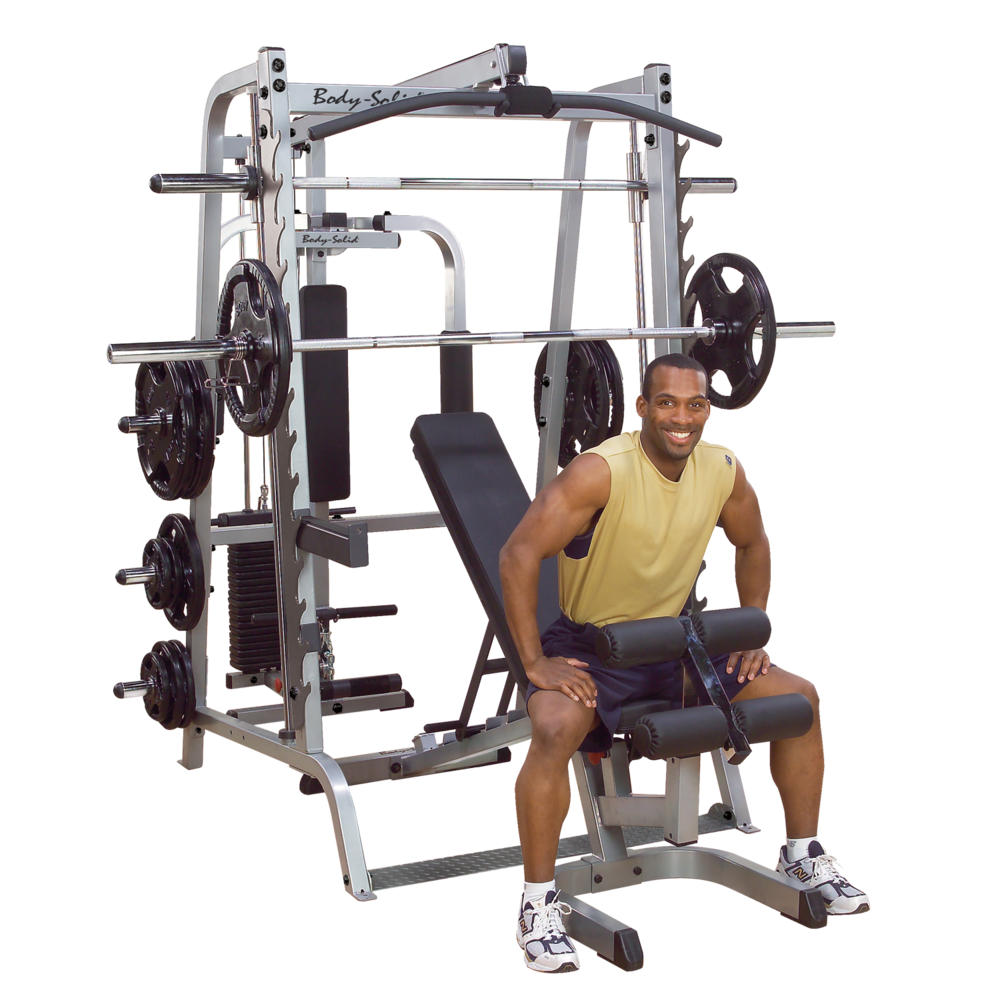 Example: Body-Solid Series 7 Smith Machine Package