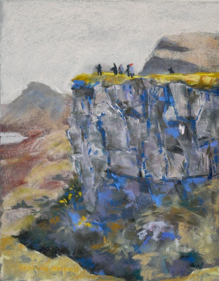 Pastel on Art Spectrum, 2017 : Commission