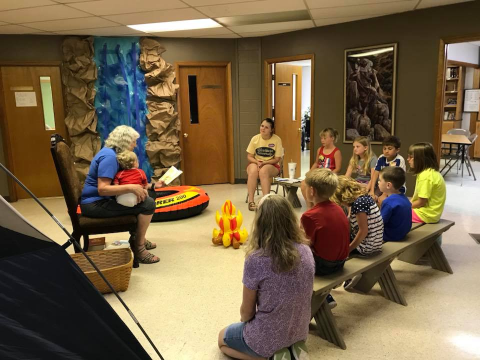 Splash Canyon VBS, 2018 - We had a great time teaching all about how Jesus promises to always be by our side!
