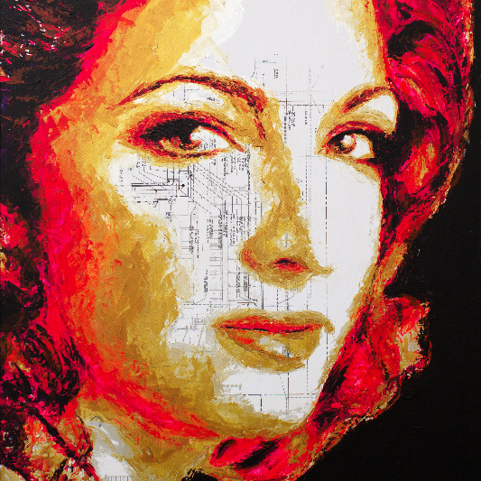 Gloria Estefan by HAVI