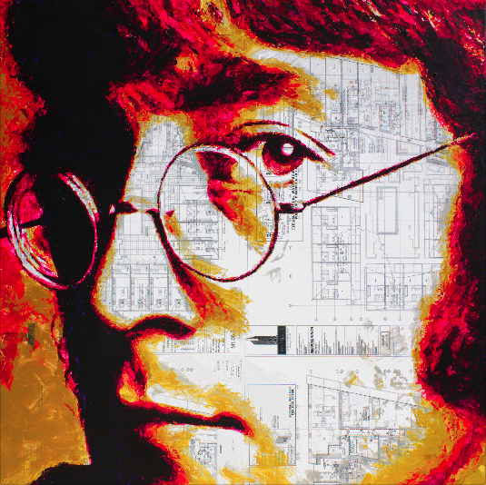 John Lennon by HAVI