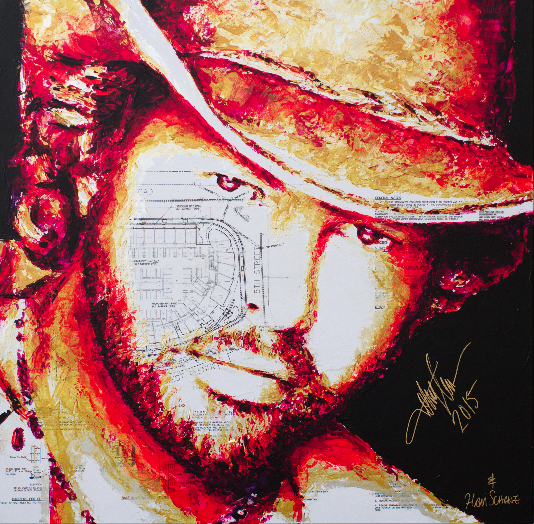 Toby Keith by HAVI