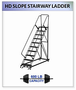 HD Slope Stairway Ladder