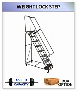 Weight Actuated 16-24 Ladders
