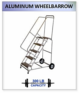 Aluminum Wheelbarrow Ladder