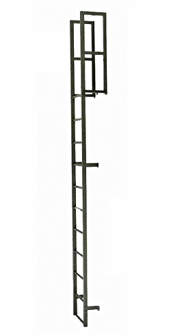 Customizable Industrial Fixed Ladders Osha Compliant