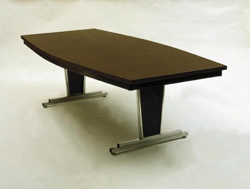 Director Conference Table Custom Made Ladders Platforms Fixed - Rolling conference table